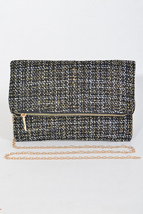 911071299df PPC5133 Old Yet Trendy Inspired Overlapping Clutch - Handbags