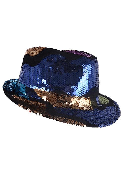 PH1121MT MULTICOLOR Sequins style fedora mt 121 - Hats