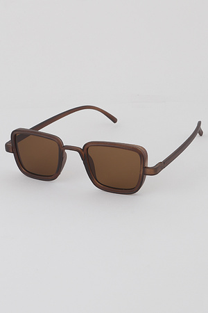 Translucent Frame Sunglasses
