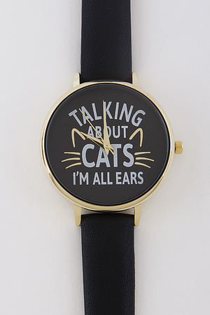 Talking About Cats Watch 7HCA6