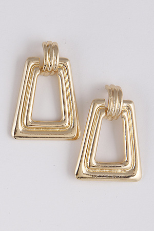 Antique Style Metal Earrings 9BAD5