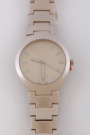 Trendy Plain Watch 7FBH4