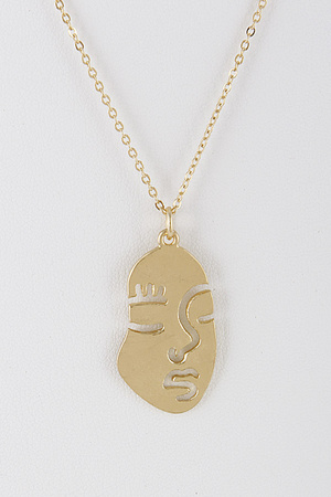 Show Me You Face Necklace 8BBD3