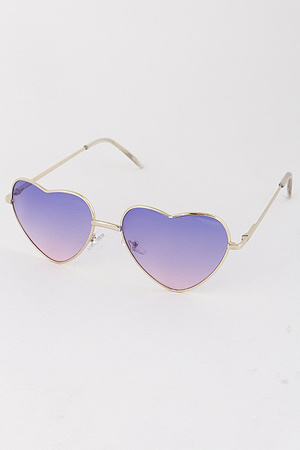 Ladylike Heart Sunglasses