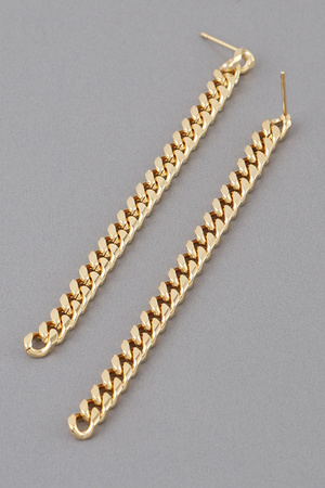 Simple Chain Drop Earrings