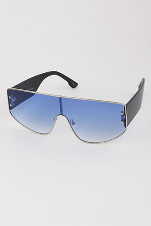 Silver-Line Backed Sunglasses