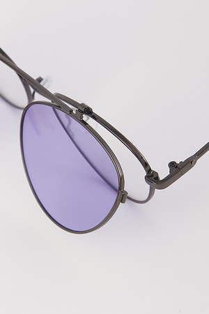 Hipster Popup Lense SunGlasses
