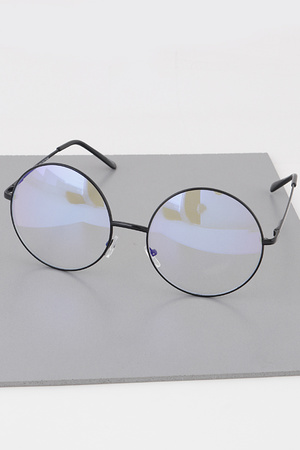 Blue Light Blocker Round Glasses