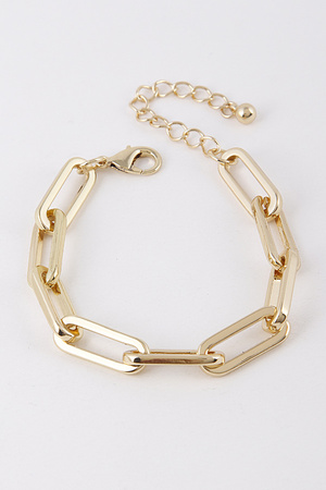 Gold Chained Link Bracelet 9DBC5