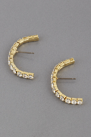 Bigger Half Hoop Earrings 9JAD1