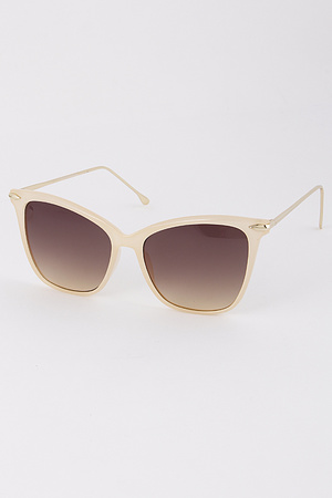 Framed Tinted Sunglasses