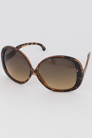 Rounded Butterfly Sunglasses