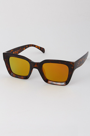Thick Framed Square Sunglasses
