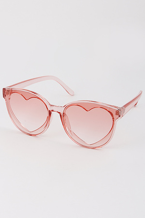 Heart Tinted Lovely Sunglasses
