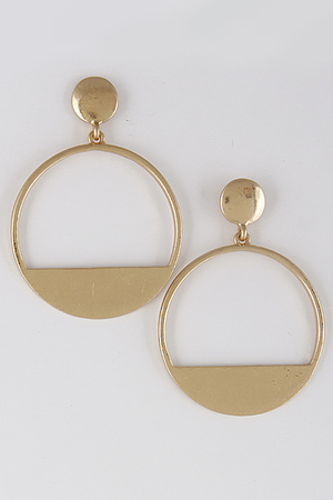 Cute Circle Earrings 8BBC2