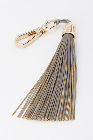 Leather Tassel Key Chain 5LAD9