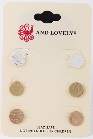 Simple Daily Earring Set 8LAD6