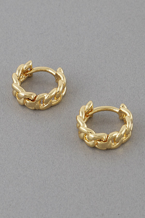 Chain Hoop Earrings 9JBA10