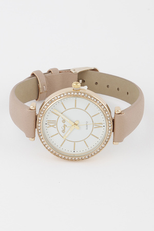 Monotone Leather Watch