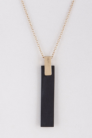 Casual Bar Line Necklace 8LCA6
