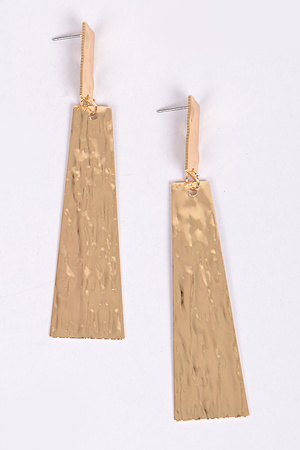 Hammered Structured Earring