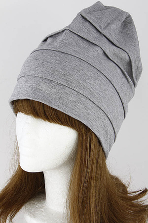 Simple Fold Detail Everyday Beanie