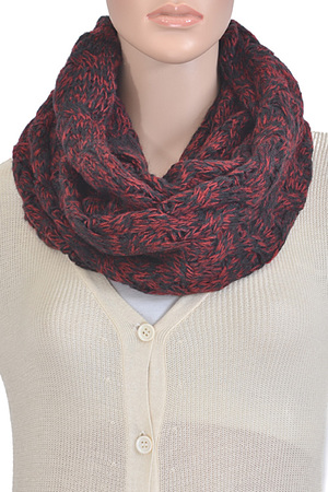 Mixed Colored Infinity Scarf