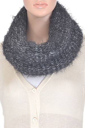 Furry One Wrap Infinity Scarf