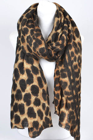 Leopard Fashionable Scarf.