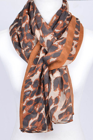 Camo Printed Unique Scarf