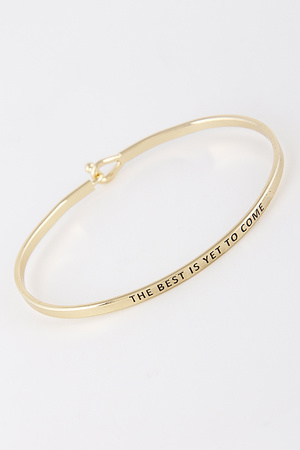 The Best Is Yet To Come Bracelet 8ACF5