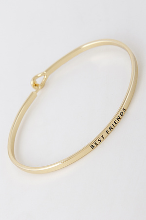 Best Friends Written Bracelet G3