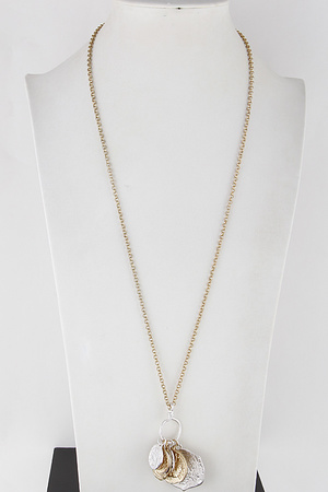 Coins Chain Necklace 9JAB4