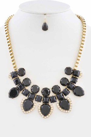 Fashionista Shiny Statement Necklace 3KCJ7