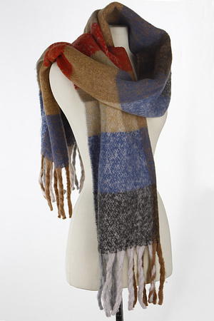 Multi Tone Winter Scarf 7JAE