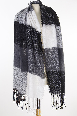 Multi Use Wrap Scarf 8KCB.