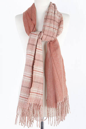 Mixed Pattern Scarf