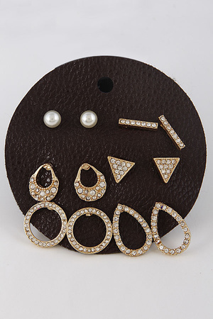 Your Perfect Bright Earring Set 7JAD10