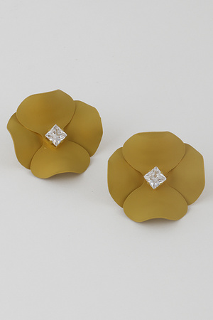 Camellia Stud Earrings 9JBB1