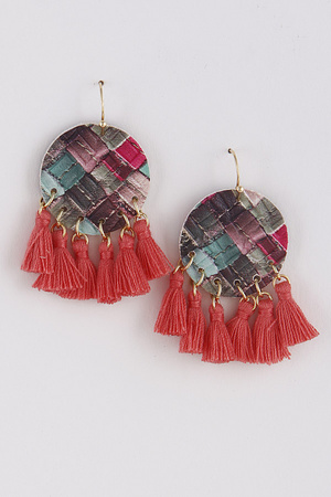 Day to Day Earrings With Tassel 9BAD3