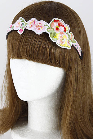 Lovely Floral Head Band 7FBI