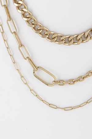 Various Chainlink Necklace 9DBB5