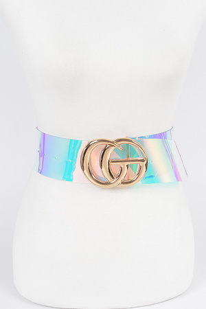 Transparent Plus Size Belt