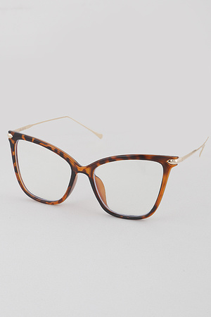 Blue Light Block Cat Eye Glasses