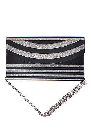 Simple Striped Clutch