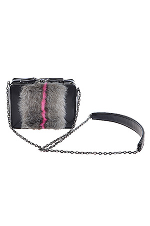 Faux Fur Detailed Clutch