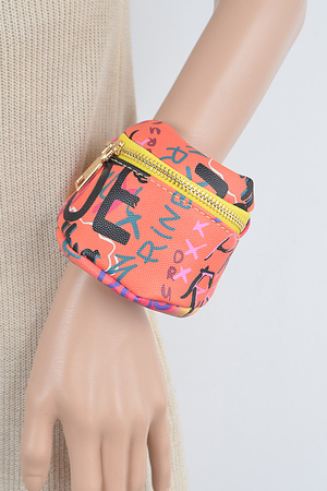 Multi Graffiti Wrist&Ankle Bag