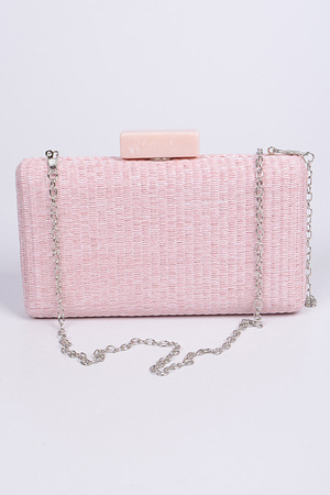 Straw With Cross Chain Clutch