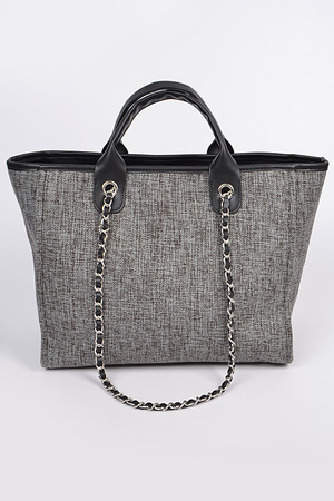 Simple Daily Shoulder Strap Tote Bag.