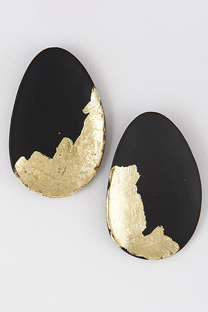 Artistic Oval Earrings 8BBD10